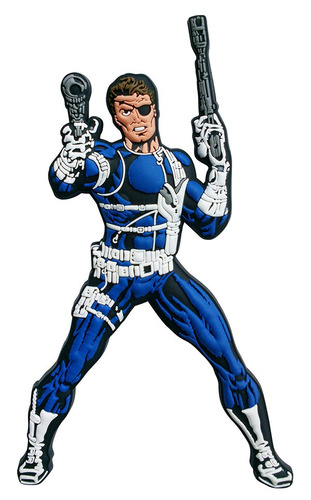 Nick Fury Ima Decorativo Em Pvc - Bonellihq E19