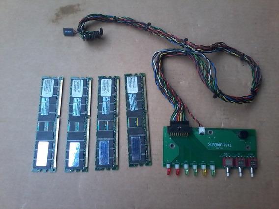 4 Memoria Painel De Ligar O Servidor Super Server