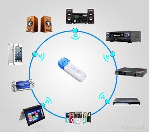 Receptor Bluetooth Universal Usb Autos - Equipos De Sonido
