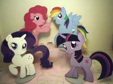 Alquiler De Figuras Mdf Y Decoración My Little Pony