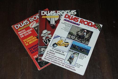 Duas Rodas Motociclismo 1981 Lote Mar Ago Dez