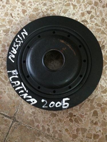 Polea Central De Cigueñal De Nissan Platina, N*392683renault
