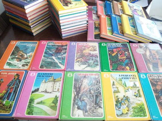 Coleção Clássicos Da Literatura Juvenil Completa - 50 Vol (b