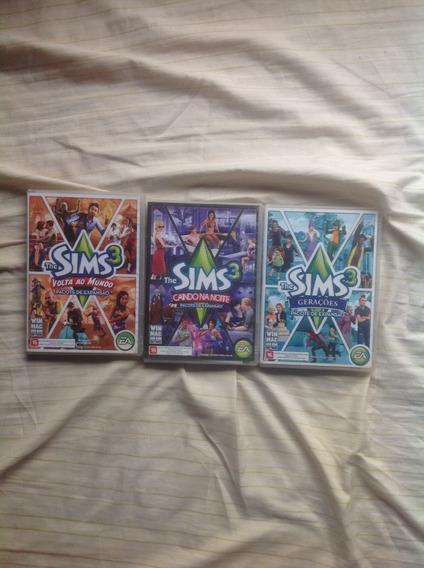 Pacotes De Expansão The Sims 3, R$35,00 Cada