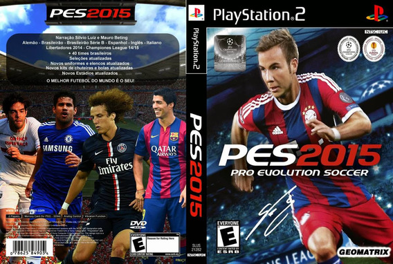 Patch Pes 2015 Pro Evolution Soccer 2015 Ps1/ps2