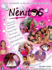 Mini Spa Infantil Nenitas Spa