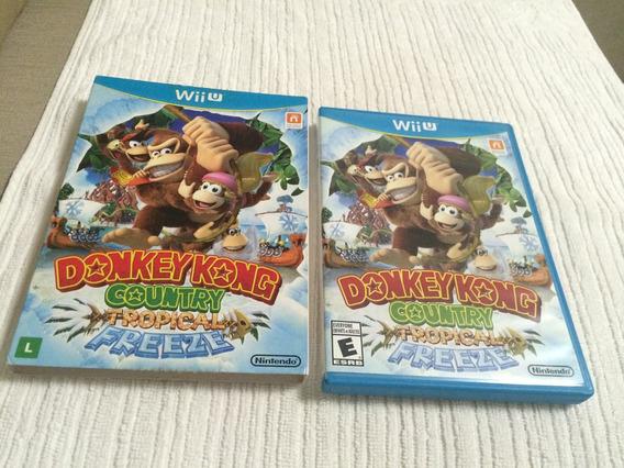 Donkey Kong Country Tropical Freeze Com Luva