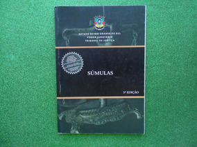 Lp Súmulas 3ª Edição Estado Rgsul