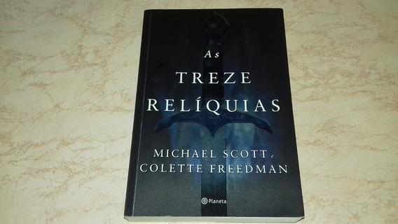 Livro: As Treze Relíquias Michael Scott E Colette Freedman