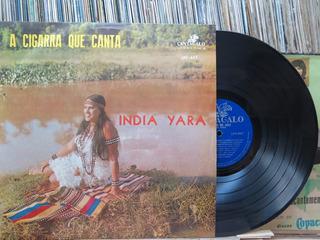 India Yara A Cigana Que Canta Lp Cantagalo