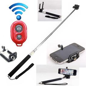 Pau Bastão Selfie + Controle Bluetooth Para Celulares