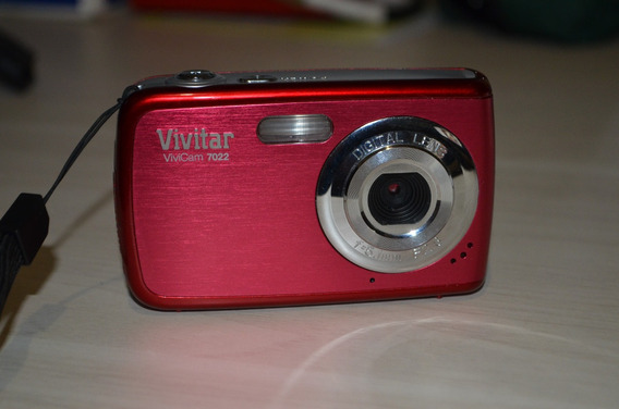 Câmera Digital Vivitar Vivicam 7022
