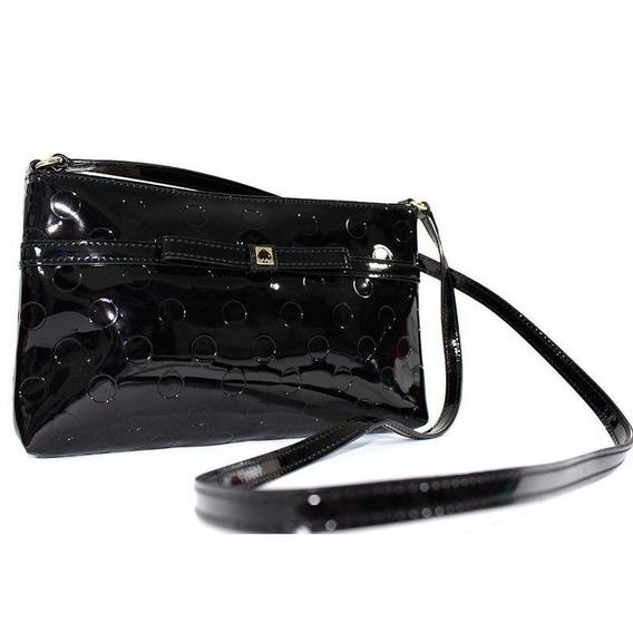 Bolsa Kate Spade Original Amy Camellia Street Bag - Black
