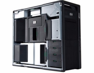 Workstation Hp Z800 2x Xeon Quadro 48gb Memoria Ecc