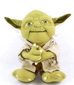 Boneco Mestre Yoda Pelucia Star Wars Presente Geek Lindo