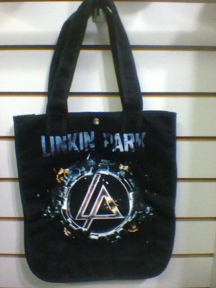 Bolsa Linkin Park Lp Brim 100% Algodão