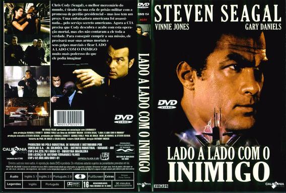 Dvd Lacrado Lado A Lado Com O Inimigo Steven Seagal | Mercado Livre