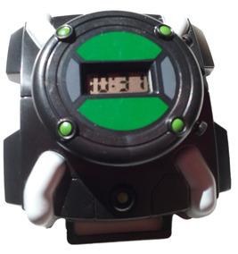 Relógio Brinquedo Infantil Com Som E Luz Ben 10 Omniverse