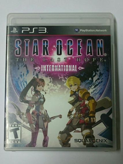 Star Ocean The Last Hope Internacional Completo Mídia Física