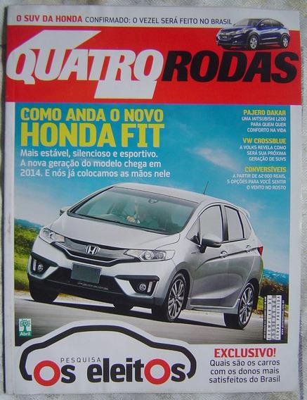 Revista 4 Rodas Especial - Edição 651 - Honda Fiat.