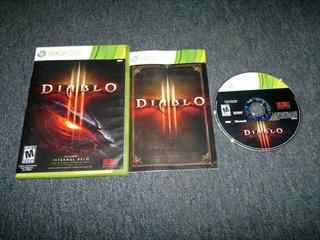Diablo Iii Sin Instructivo Xbox 360,excelente Titulo.