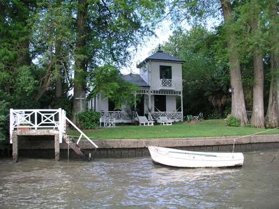 Alquiler Casa Quinta En Tigre Delta Con Pileta Y Amarra