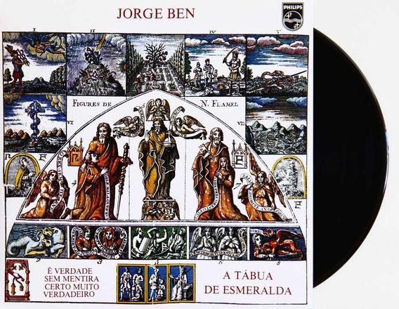 Lp Vinil Jorge Ben A Tabua De Esmeraldas Novo Lacrado 180g