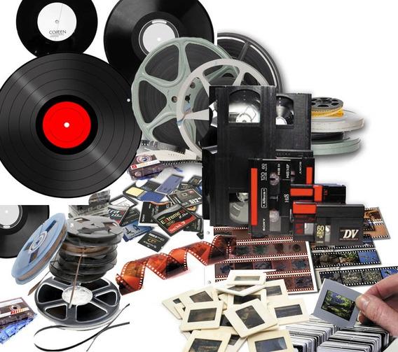 Convertir Películas 8mm /super8/9,5/16 Y 35mm Dvd O Pendrive