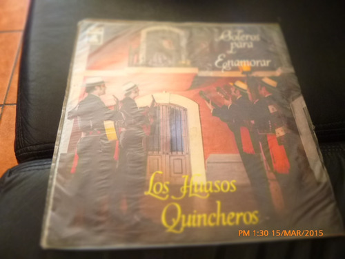 Vinilo Lp De Los Huasos Quincheros -boleros Para Enam (u1140