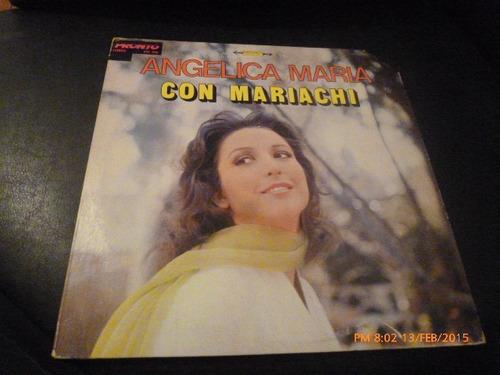 Vinilo Lp De Angelica Maria -- Con Mariachi (u55