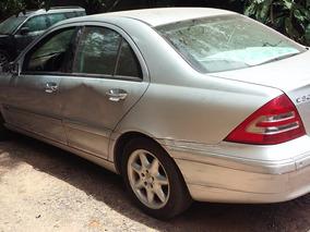 Sucata Mercedes C320 C240 C180 2002 Bartolomeu Peças