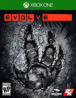 Jogo Novo Lacrado Da 2k Games Evolve Para Xbox One
