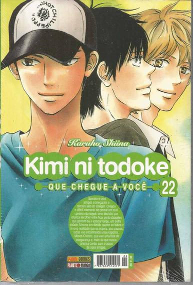 Kimi Ni Todoke 22 - Panini - Bonellihq Cx104 H19