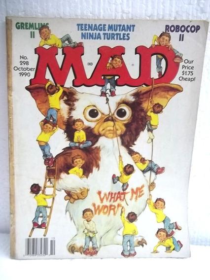 Revista Mad N° 298 Outubro 1990 Importada Usa