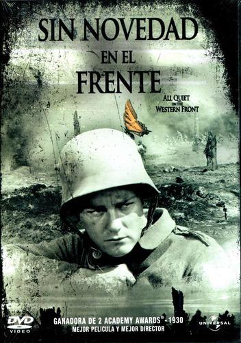 Dvd Sin Novedad En El Frente ( All Quiet On The Western Fron