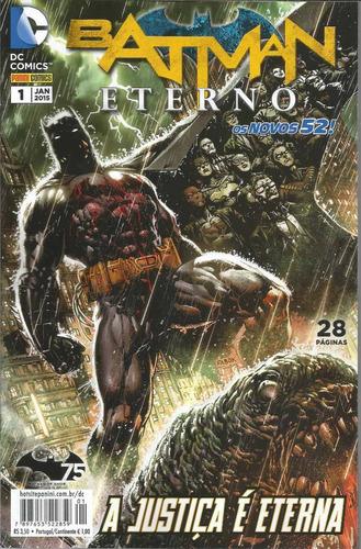 Batman Eterno 01 Novos 52 - Panini 1 - Bonellihq Cx108 I19
