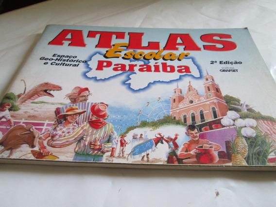 Atlas Escolar Paraiba 2 Ediçao Editora Grafset Usado R.716