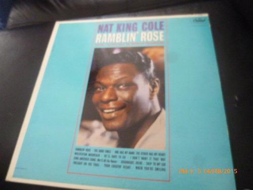 Vinilo Lp De Nat King Cole --ramblin Rose (u219