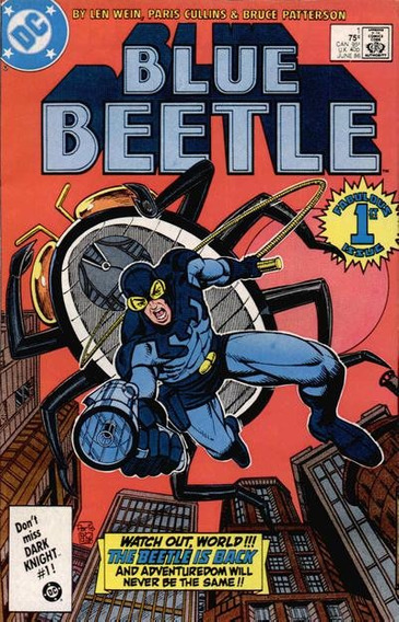 Blue Beetle 1 A 18 (dc Comics) Série De 1987! Besouro Azul