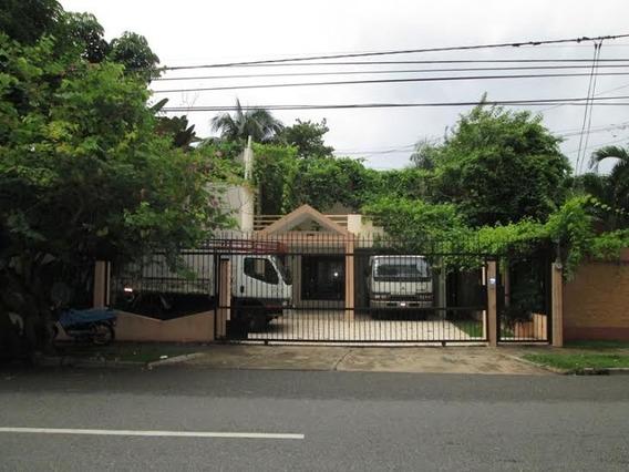 Alquilo Casa En Piantini Para Vivienda O Oficina