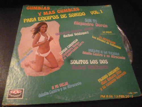 Vinilo Lp De Cumbias Y Mas Cumbias (u1004