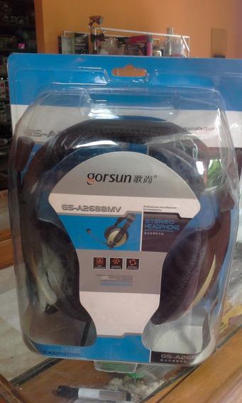 Fone De Ouvido Headphone Profissional Gorsun Gs-a2688wv