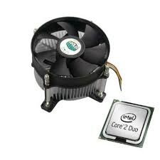 Processador Intel Core 2 Duo (e7500) + Cooler Novo