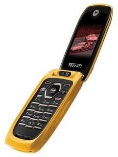 Celular Nextel I897 Ferrari Yellow Color Edicion Flip Tapa