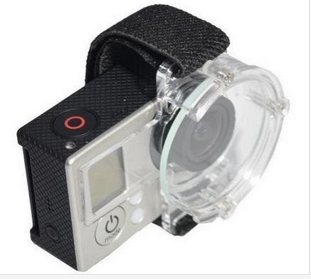 Protector Cap Strap Tampa Transparente Para Câmera