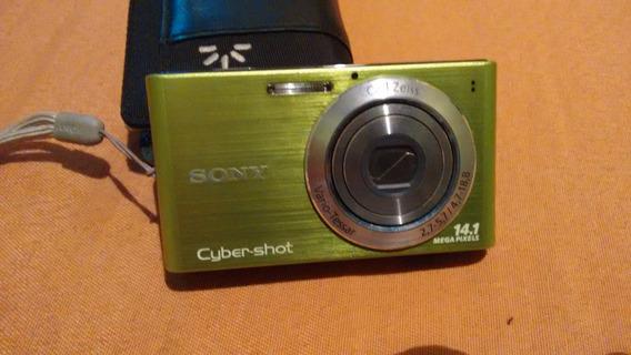 Camera Fotografica Sony Cyber Shot Usada