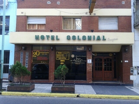 Hotel En Buenos Aires, Habitaciones Por Mes Con Baño Privado