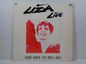 Ld Laserdisc Liza Minnelli - Live From Radio City Music Hall