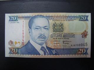 Cédula - 20 Shilingi - Kenya