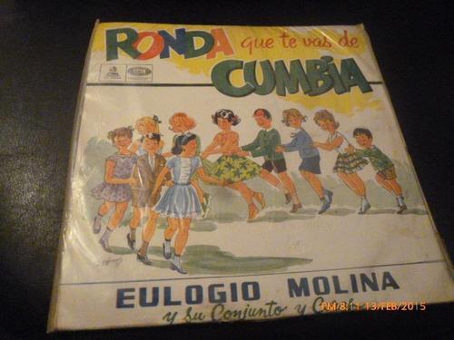 Vinilo Lp De Eulogio Molina  -ronda Que Te Vas (u1000
